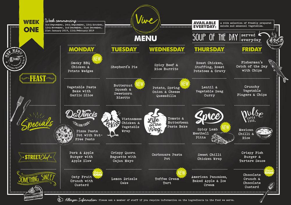 Week One Vive