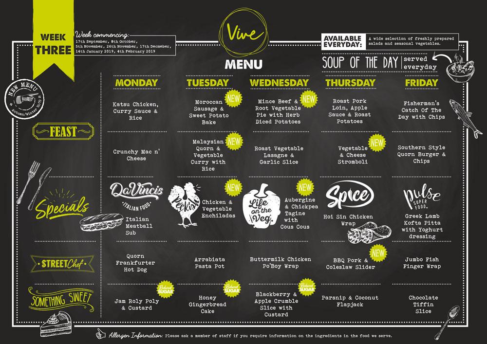 Week Three Vive