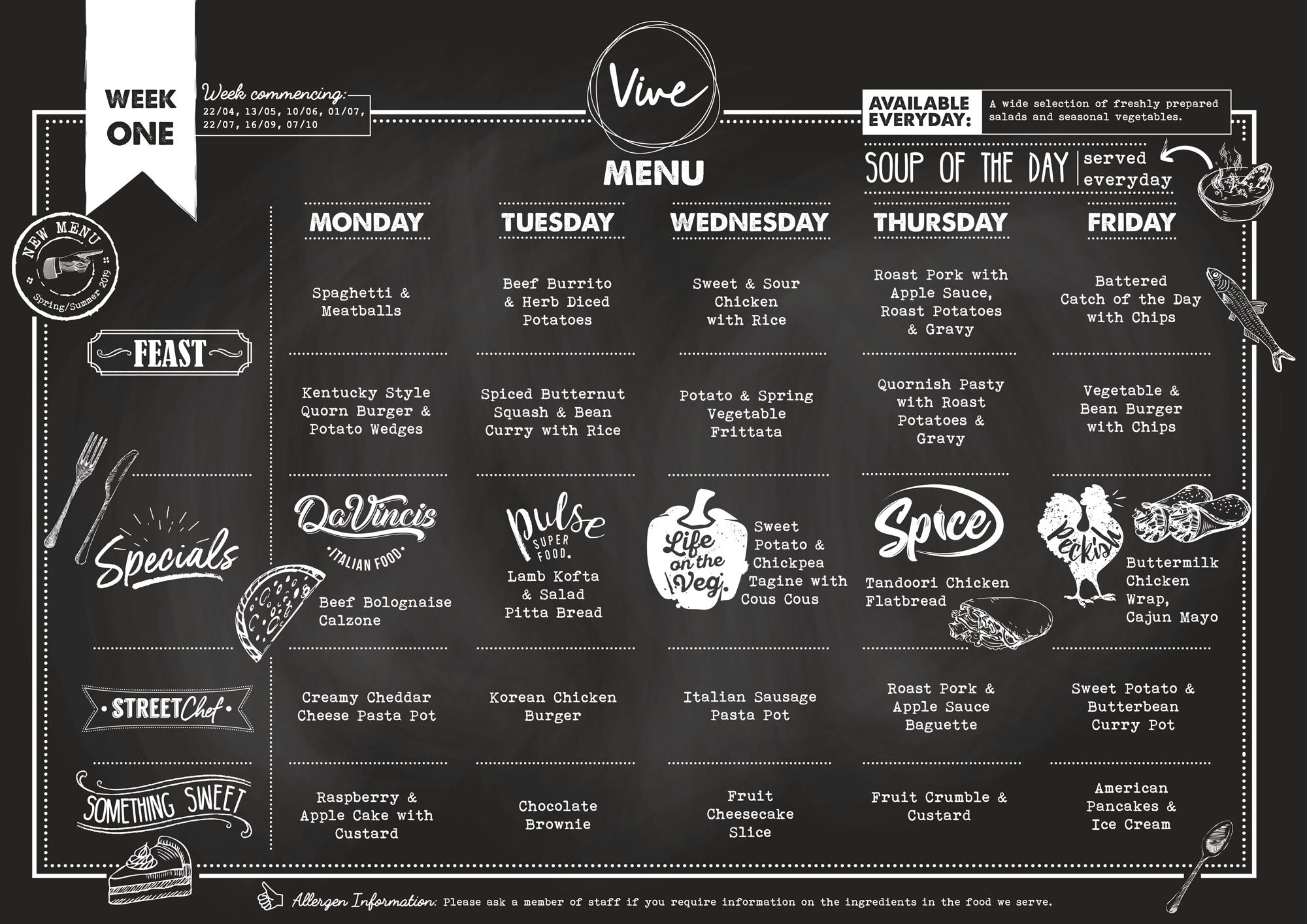 Vive Week One