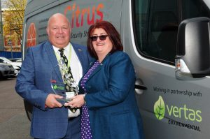 Recycling Award for Vertas Environmental