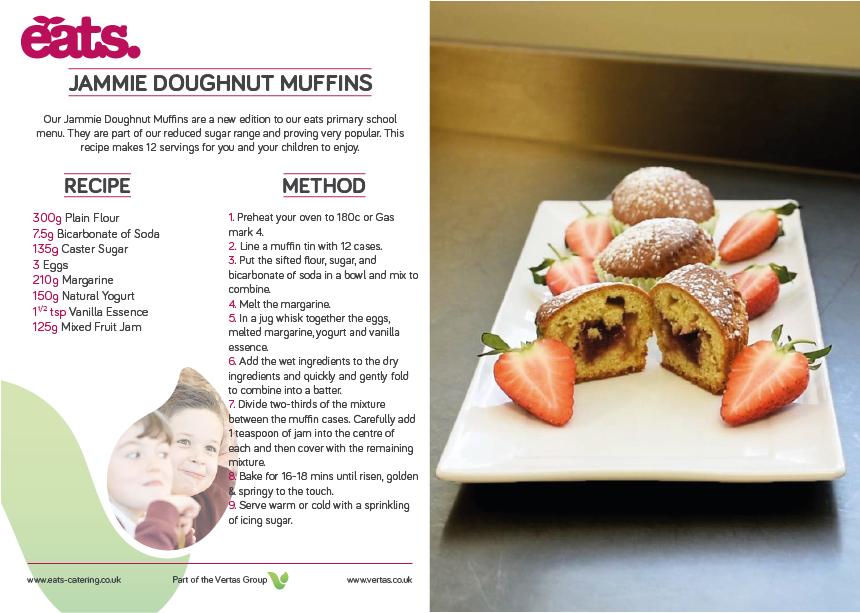 Jammie Muffins Recipe